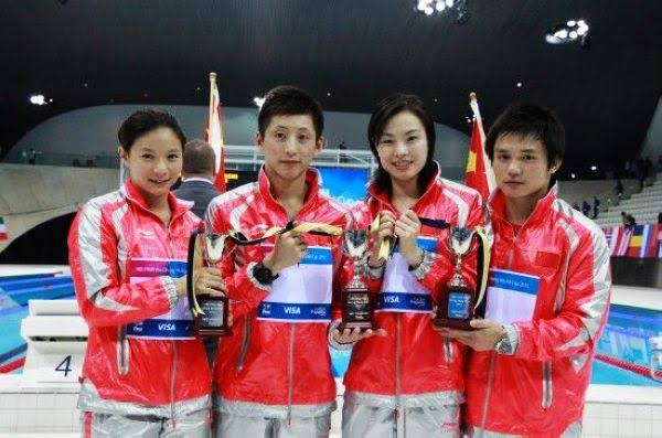 Chinese Diving Team