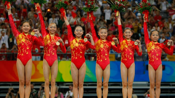 Gymnastic Chinese Team